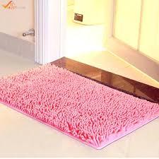 chenille bath rugs best microfiber chenille bathroom rugs carpet non slip shower soft plush absorbent