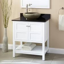 Bathroom Vanities Amazing Everett White Vanity Vessel Bathroom