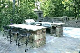 how to build an outdoor kitchen how to build outdoor kitchen with cinder blocks cinder block