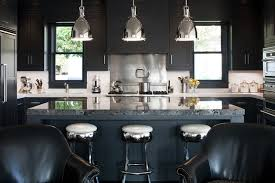 modern white and black kitchens. As The Ubiquitous All-white Kitchen Starts To Look Sterile, Designers Are Thinking Inky\u2014with Dark Cabinetry, Appliances And Accessories Modern White Black Kitchens