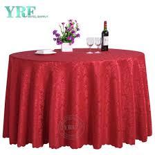 round wedding decorative table cloth