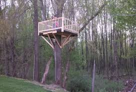 How To Build A Simple But Cool Treehouse Wooden Global