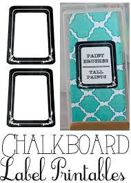 Labeling Binders Free Printable Chalkboard Labels Binders And Storage