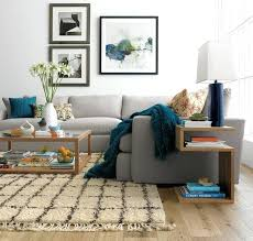 sectional sofa rug placement how to place a rug with a sectional sofa