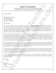 Vice Principal Cover Letter Sarahepps Com