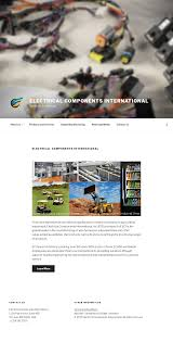 electrical components international competitors, revenue and Wire Harness Assembly electrical components international website history
