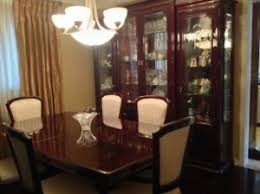 gorgeous solid cherrywood dining room set