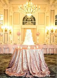 gold table cloths rose sequin cloth ready to ship shimmer sparkly overlays tablecloths for wedding event