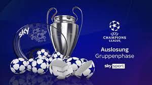 Auslosung der UEFA Champions League - Gruppenphase 2020/21 #UCL - YouTube