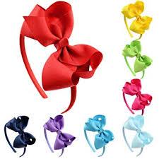 Aneco 8 Pack Girls Grosgrain Ribbon Headband with ... - Amazon.com