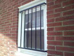 image of simple basement window security bars