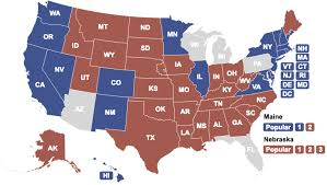2012 Election Chart 2020 Presidential Election Interactive Map Electoral Vote Map