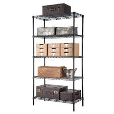 5 tier wire shelving trinity