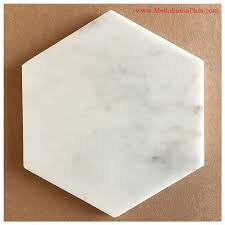 carrara marble polished hexagon tiles 6