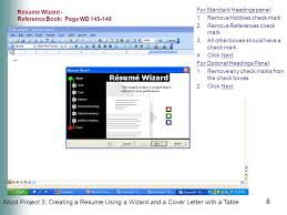 Microsoft Resume Wizard New Office 48 Introductory Concepts And Techniques M I C R O S O F T