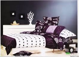 Free Shipping Wholesale silk Queen Bedding Quilt Doona Duvet ... & Free Shipping Wholesale 100% Cotton Queen Bedding Quilt Doona Duvet Covers  Sets 4pc Purple White Adamdwight.com