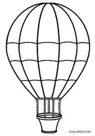 Small Picture Hot Air Balloon Coloring Pages Free Printables Balloon crafts