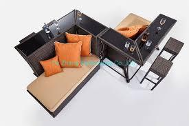 4 seater modern pub design metal