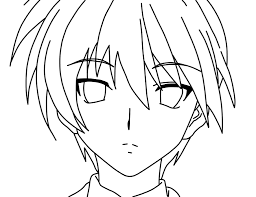 Small Picture Anime Characters Coloring Pages For Kids ColoringPage Anime