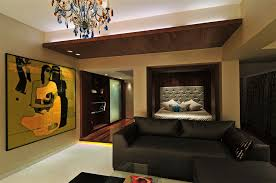 Quirky Bedroom Decor Moder Cream Wall Modern Bungalow Interior That Can Be Decor With