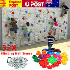 au 32pcs indoor rock climbing stones