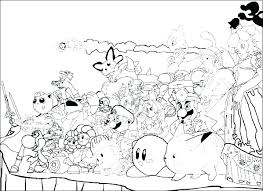 Printable Coloring Pages Nickelodeon Characters Book Pdf