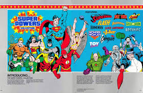 dc ics super powers toy catalogs mercials