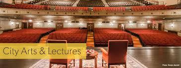 City Arts Lectures John Marcia Goldman Foundation