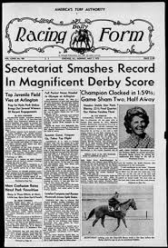 derby racing form library blog daily racing form online archive usa