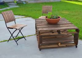 Outdoor Pallet Furniture Set  99 PalletsPallet Furniture For Outdoors