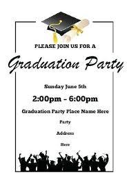Graduation Invitation Templates Microsoft Word Make Graduation Announcement Graduation Invitation Templates