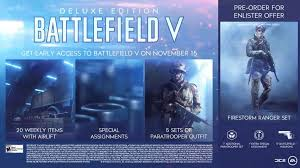 Battlefield 5 Here Are The Various Pre Order Bonuses On Offer