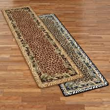 animal print area rugs. Jungle Safari Rug Runner Animal Print Area Rugs
