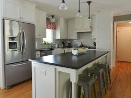 cozy kitchen layouts with islands and a sink