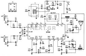rf > fm transmitters > crystal controlled fm stereo transmitter crystal controlled fm stereo transmitter circuit schematic