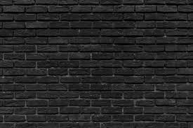 old black brick wall interior design