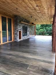 custom stamped concrete patio wood look t19 patio