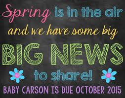 spring baby announcements spring chalkboard pregnancy announcement pregnancy reveal spring