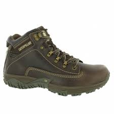 caterpillar cat mens corax leather hiking boots nutmeg