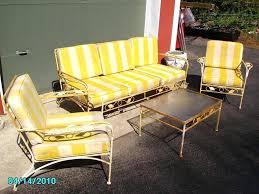 vintage wrought iron patio furniture ebay lyon shaw wrought iron vintage patio furniture fancy vintage homecrest patio furniture cushions vintage outdoor furniture cushions