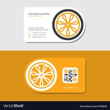 Zipcode Design Customer Service Yellow Business Card Automotive Service Station