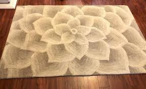 rose tufted rug ivory ivory rug rose tufted collection imports rose tufted ivory round rug
