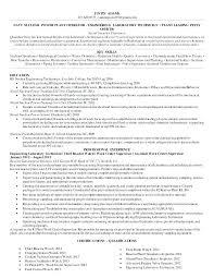 Power Plant Operator Resume Resume Template Directory