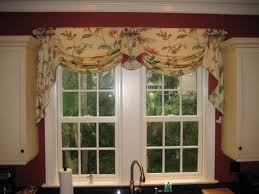 bedroom curtains with valance window curtain swags valances for inspirations pictures waverly kitchen jcpenney and tie up