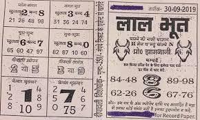 Mumbai Game Chart Satta Matka Book Stall Bazari Matka Charts Satta Matka Help