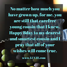 Happy Birthday Cousin Quotes Happy Birthday Cousin Quotes Wishes Sayings Messages 51