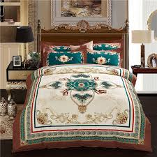 luxury bed sheet bedding set twin full queen king uk double au single size duvet cover pillow cases high quality linen colour as picture