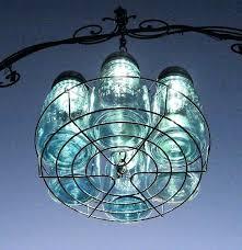 exotic solar powered chandelier my homemade outdoor glitzy solar chandelier
