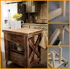rustic kitchen island praktic ideas