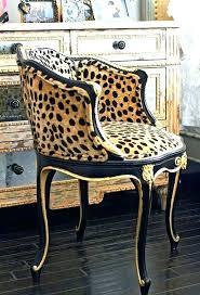 office leopard print. Barstool Office Leopard Print N